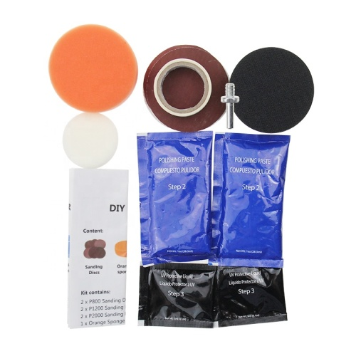 Easy Operation DIY Car Headlight Restoration Kit for Restore Sun Damaged Headlights