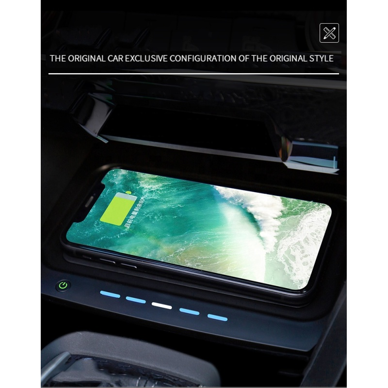 New style 5-10A vehicle-mounted fast car wireless charger for Civic(Ten Generation)