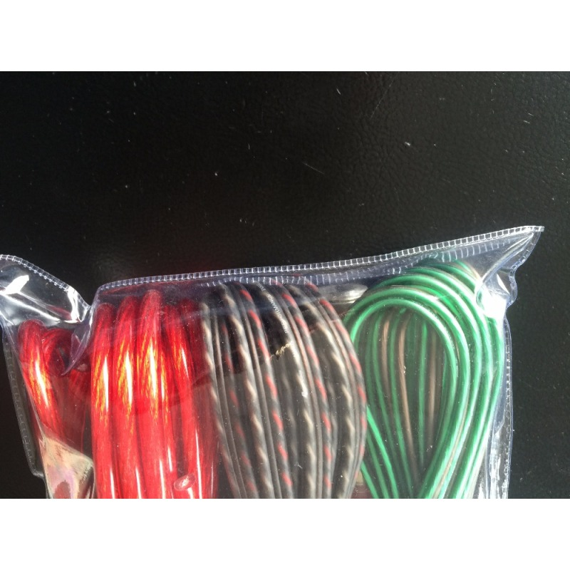 10AWG/8AWG/4AWG New Package audio power amp wiring kit power amplifier kit with small space