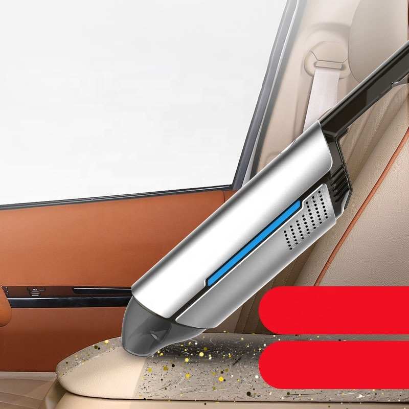 Charging handheld car vacuum cleaner USB charging cable brushless 3 batteries