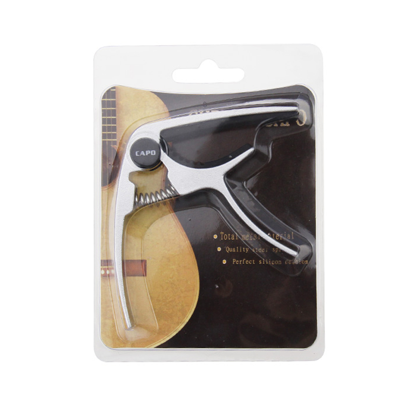 Factory Direct Wholesale Metal Zinc alloy Guitar Capo for Acoustic Electric Guitar OEM Supported
