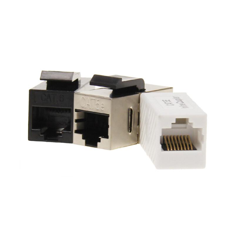 Network UTP cat5e CAT6 inline coupler  Ethernet Networking Female Jack