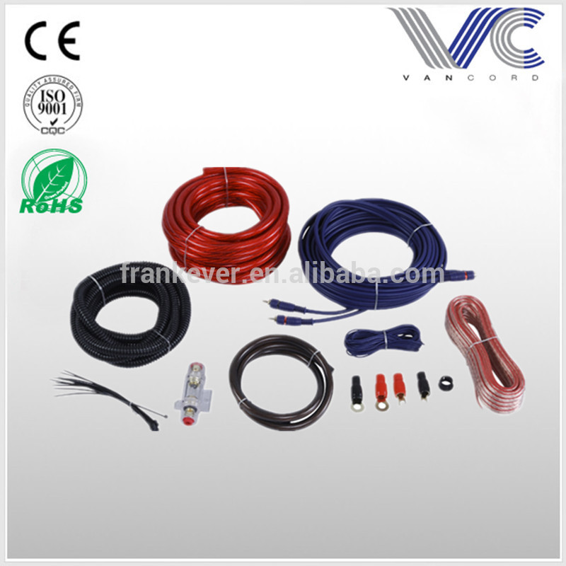 High quality OFC/CCA 4awg car auto ampilifer installation kit