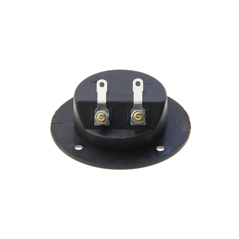 Car Stereo 2-Way Speaker Box Terminal Binding Post Round Screw Cup Connector Subwoofer Plug