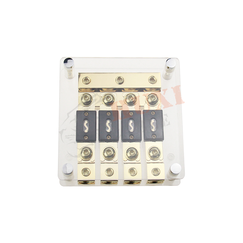 High Quality Clear Cover Automotive Brass Car Fuse Box