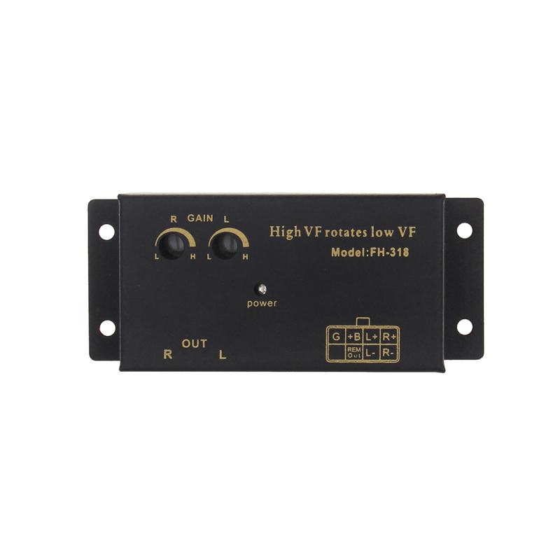50W DC/DC Speaker Outputs To RCA Outputs Converter