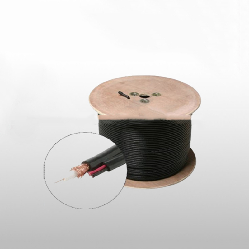 Bulk RG59 + Power Siamese Cable, 500 ft, Commscope Rg59 Cable