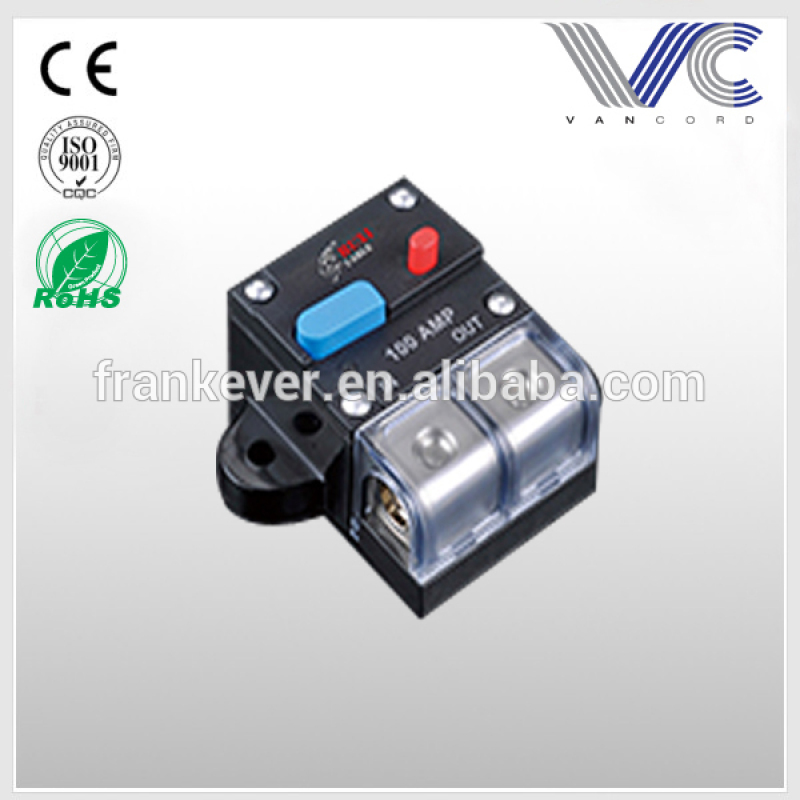 High quality new type Automatic recovery circuit breaker for car