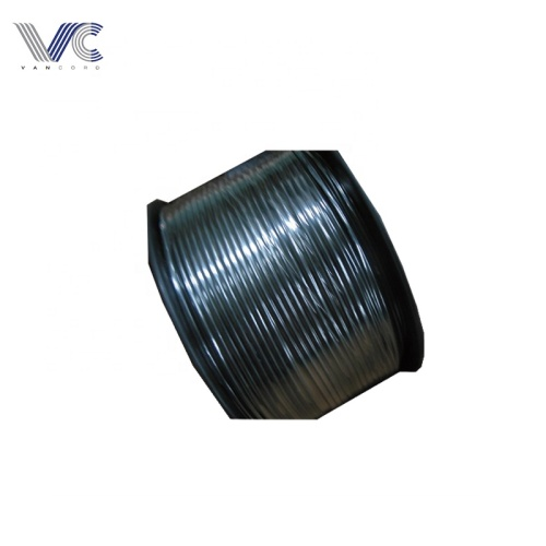 12AWG Copper power cable black insulated pvc coated armored electric power cable