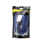 Factory wholesale 8mm mini rubber elastic cord with steel hook
