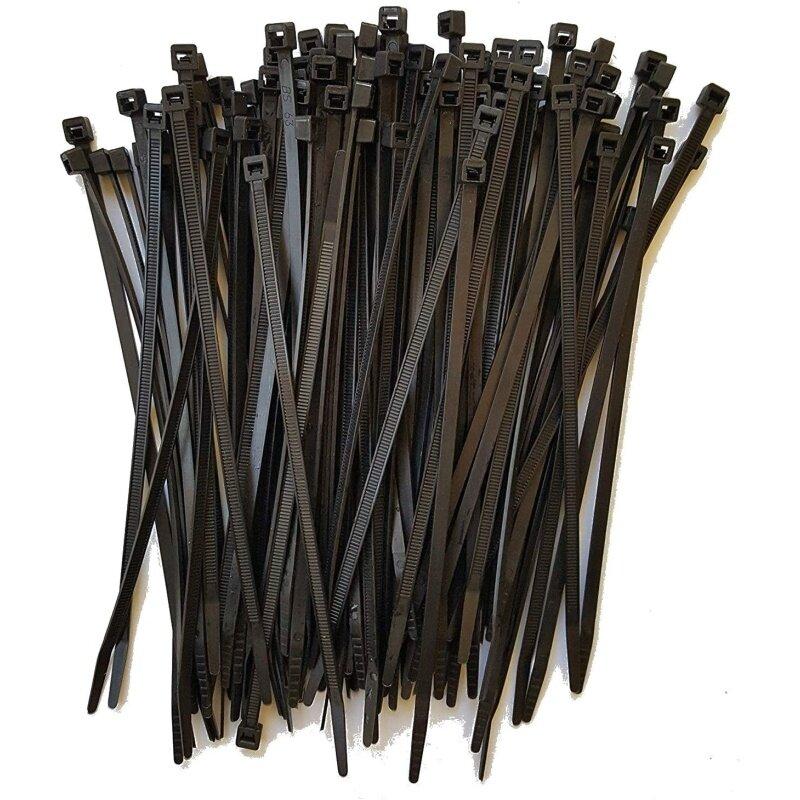 Nylon cable tie heavy duty plastic zip tie wraps,self-locking cable ties