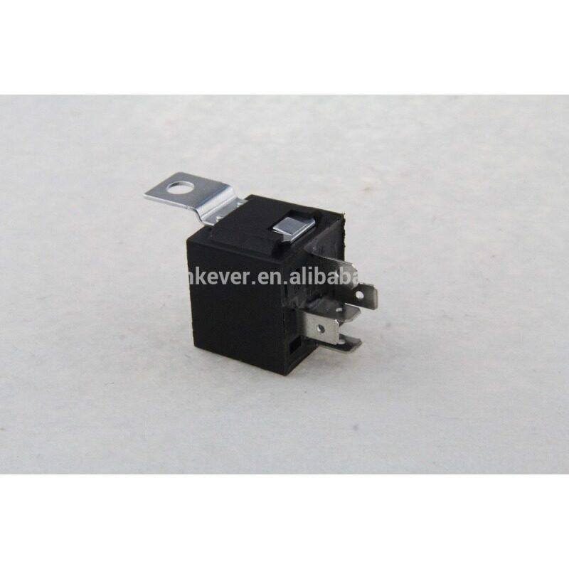 JD1914 12V 40A auto mini relay car relay with iron bracket
