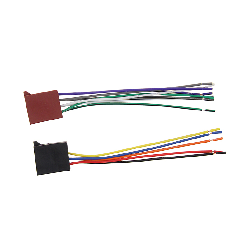 Vehicles Stereo Receiver Wiring Harness for Car Speaker Wire Harness Connector Kit