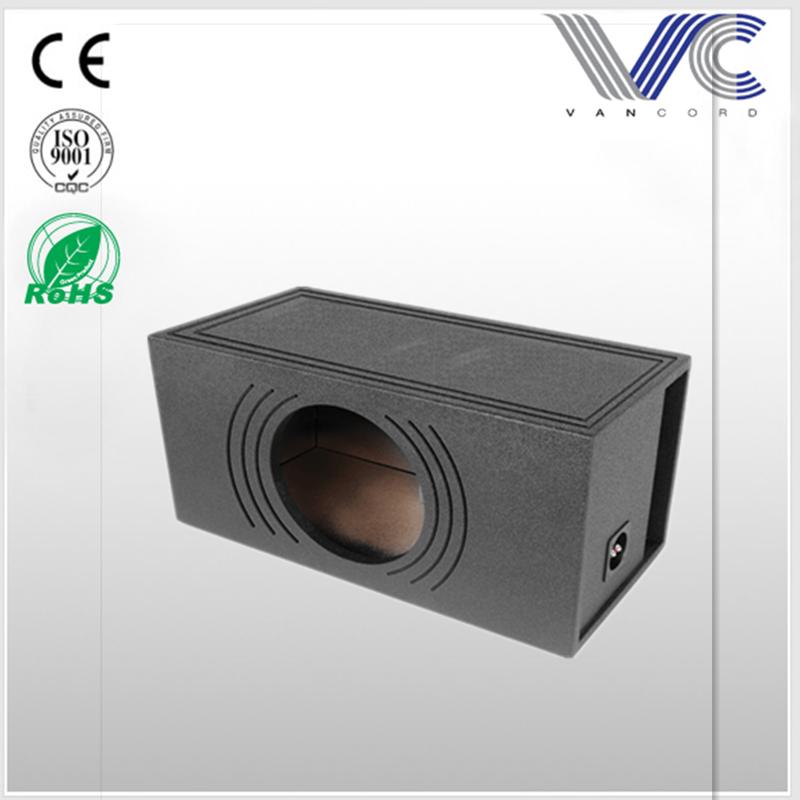 Carpet Spray Liner 10-Inch Single Downfire Subwoofer speaker Box for 1988-1998 GM Extended Cabs
