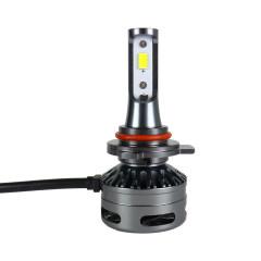 Tri-color LED Headlight H1 H7 H8 H11 9005/9006 9012 Three Color 30W Car Headlight 3300K 5500K 6K