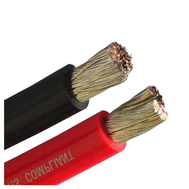 FrankEver high quality marine grade solid flexible 0/1ga power cable