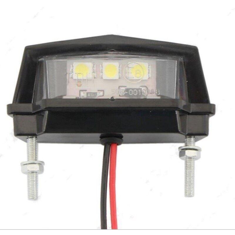 Waterproof LED License Plate Light Motorcycle