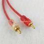 2R 3.8mm RCA Cable 2R Male to 2R Male Red Pair Wires