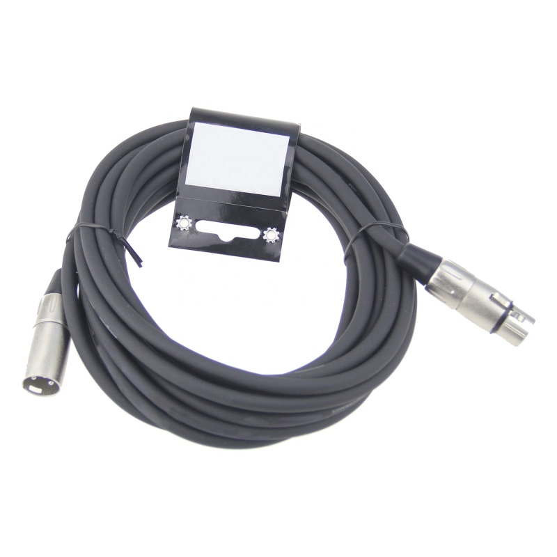 New style XLR cable 7.0MM 20FT male to female microphone shielded cable