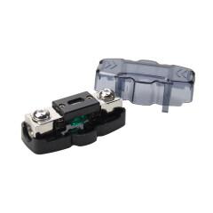 Zinc alloy 1*4/4GA in 2*8/10GA out mini ANL automotive fuse holder
