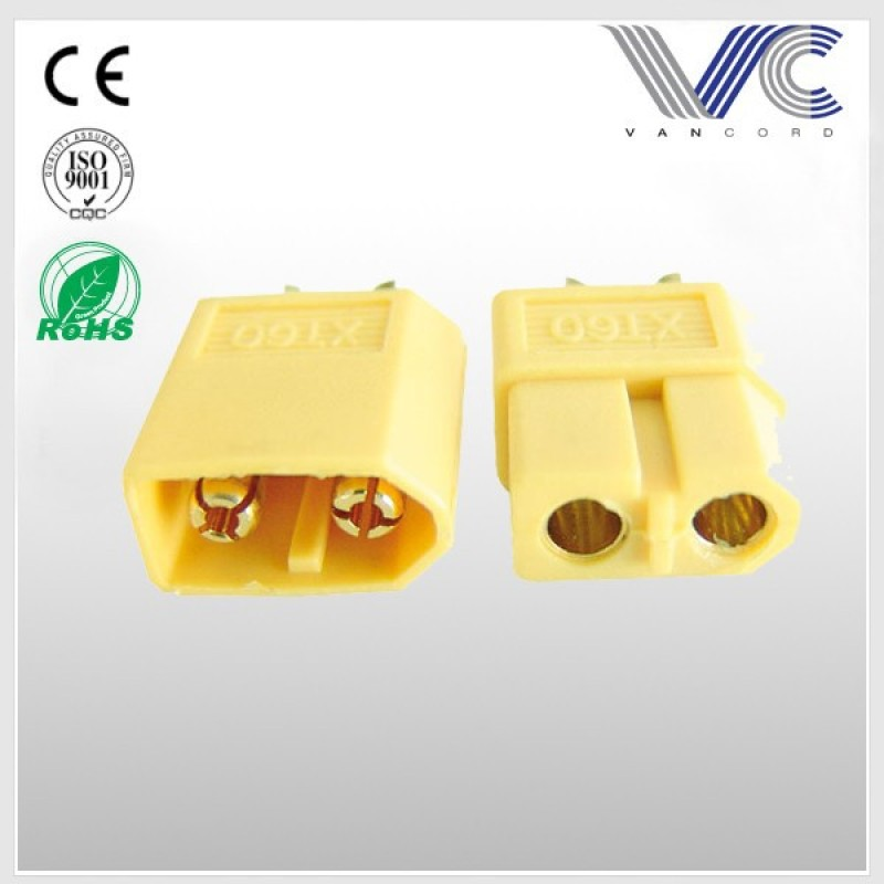 connector XT60 yellow / XT 60 connector for RC lipo battery