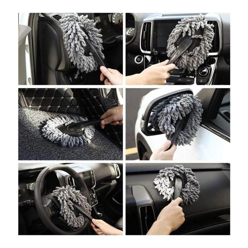 Easy use Handle Exterior Or Interior Use Microfiber Multipurpose Duster Car Wash Brush