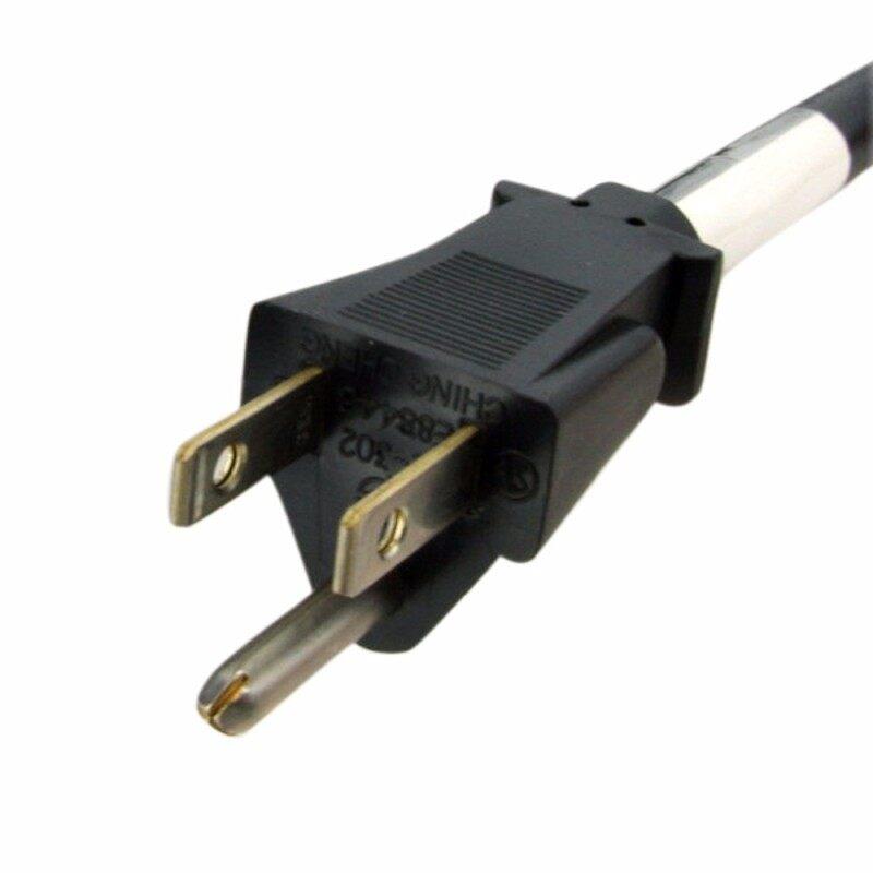 6 ft Power Extension Cord - NEMA 5-15R to NEMA 5-15P - 16 AWG Power Extension Cable Cord - 125 Volts at 13 Amps - SJT - 6ft
