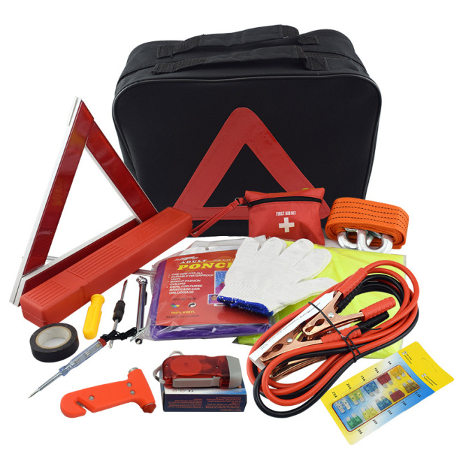 Car Emergency Roadside Kit Auto Safety Roadside Assistance Kit car emergency kit