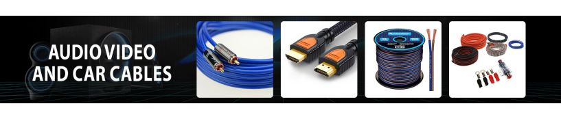Audio/Video and Car Cables