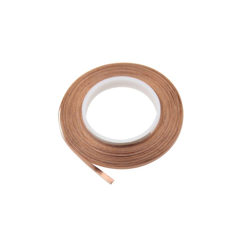HXFL0357 Super Flat Adhesive Speaker Wire, 1 Conductor, 32Meters, White Flat Cable