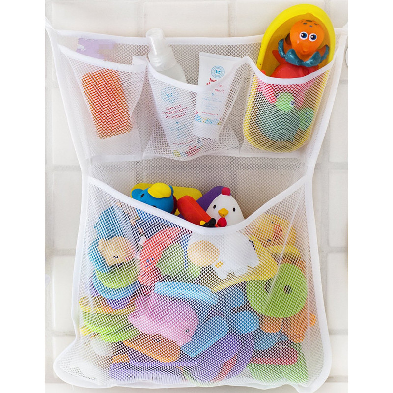 mesh baby Bath Toy Organizer with suction cups