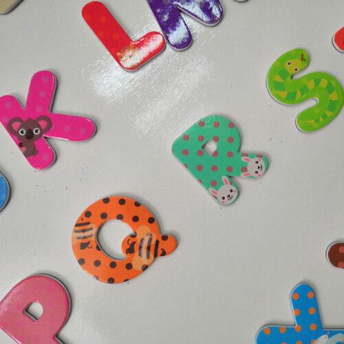 Amazon hot sellingToys for kids new 2019 customized Alphabet magnetic foam letter educational toys