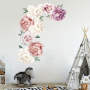 Hot sale floral wall stickers for living room
