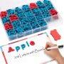 2019 hot sale 208 pcs EVA foam magnetic alphabet letter set