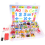 Wholesale baby school supplies educational toy foam English alphabet with magnet