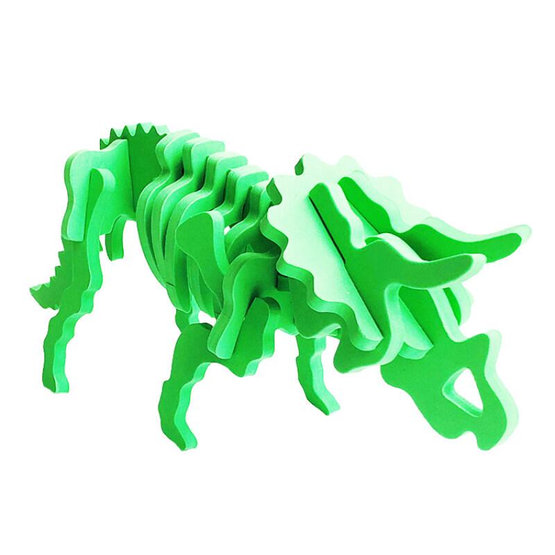 A313 Educational foam 3d funny dinosaurus puzzle