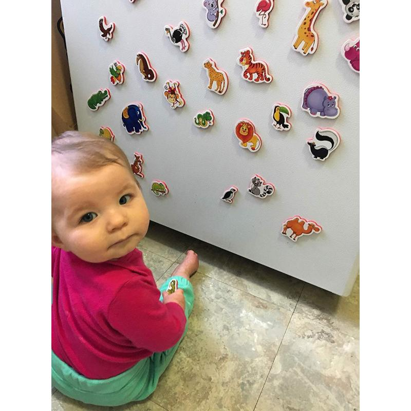 Custom magnetic animals blocks printed fridge magnet