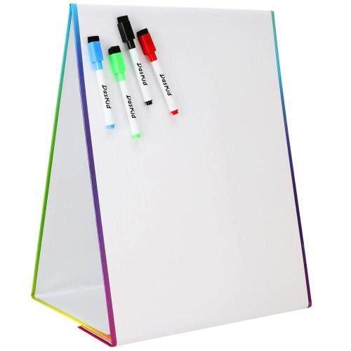 magnetic mini children kids Custom dry eraser folding double sided flexible cardboard magic whiteboard easel stand price