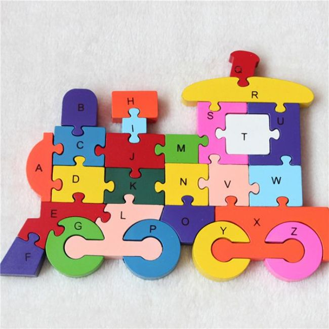 Alphabet letter foam puzzle eva educational kids puzzle toys