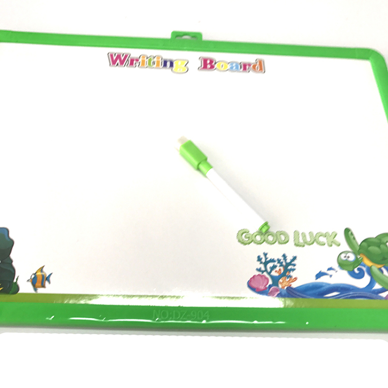 Children learning toy with magnet that white board stand for drawing