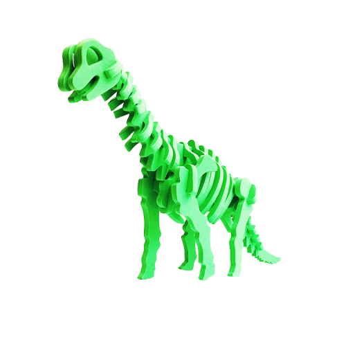 Educational dinosaur 3D eva kids foam puzzle A313