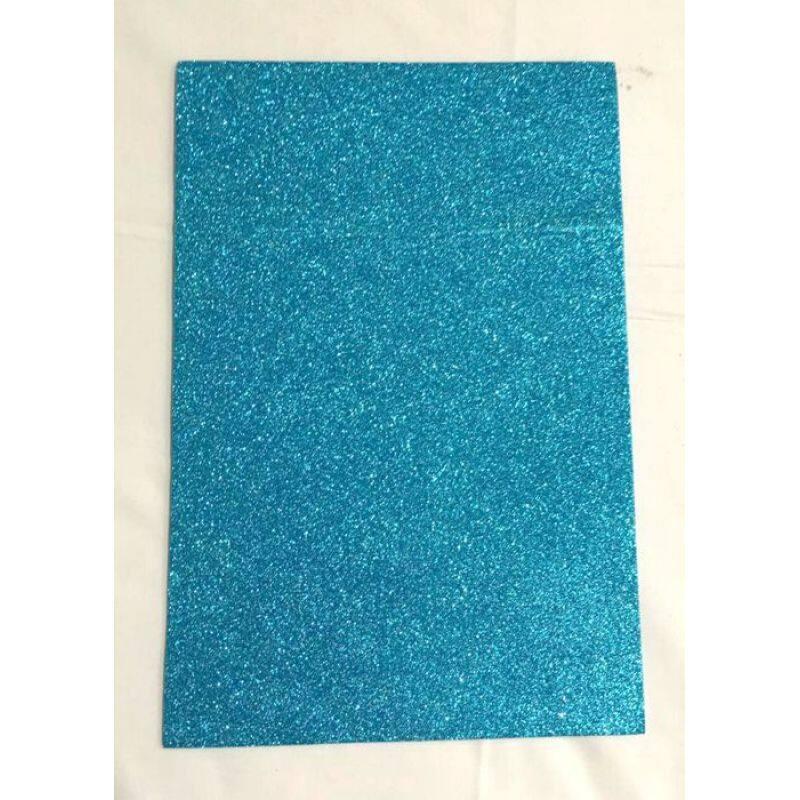 Eco-friendly kids grafts glitter eva foam sheet