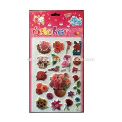 Good quality new arrival booming puffy sticker