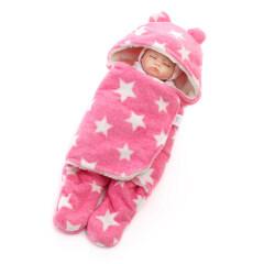 Wholesale cute newborn winter wearable baby sleeping bag