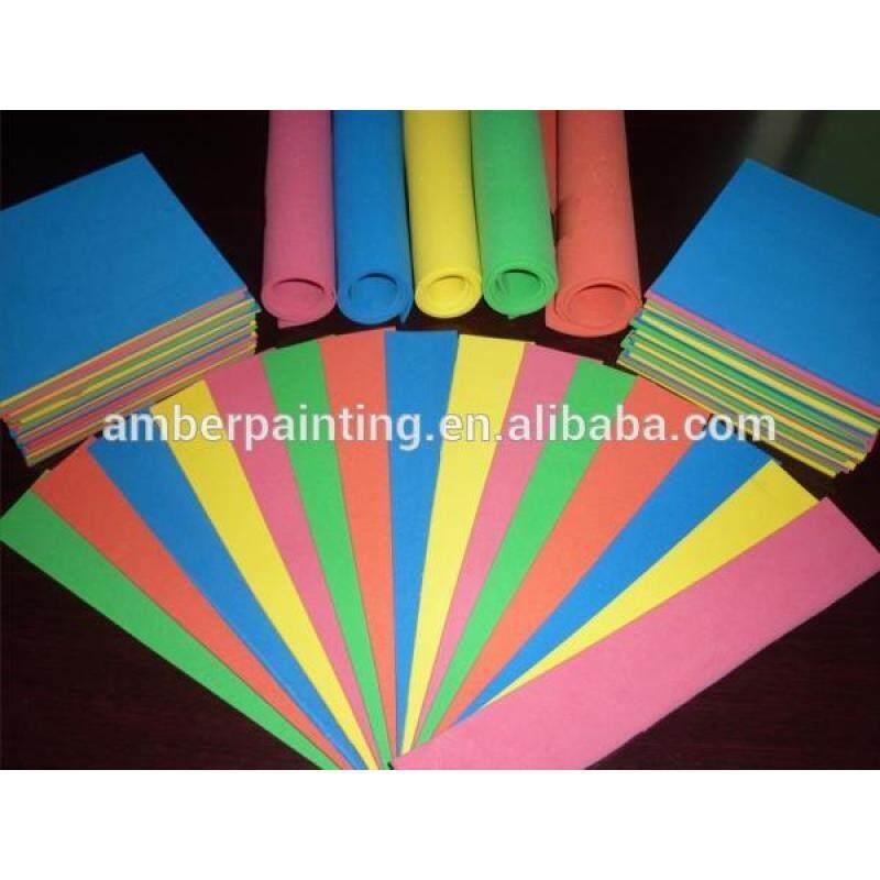 Self adhesive A4 size eva foam sheet 5mm 20mm