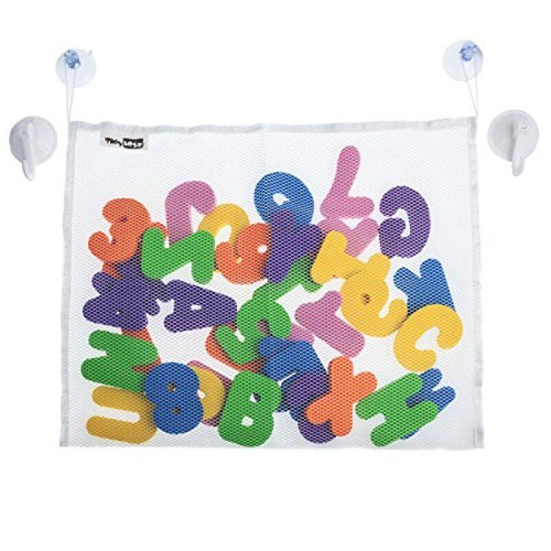 Eco friendly baby tub town foam bath toys with toy organizer bath learning toys bath kids toys