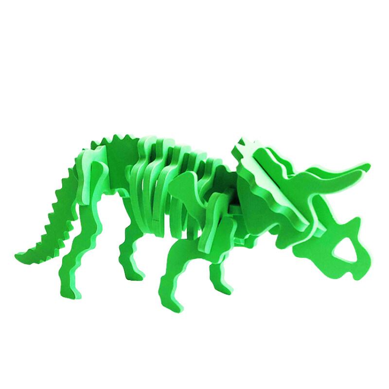 A313 Educational dinosaur 3d EVA foam puzzle