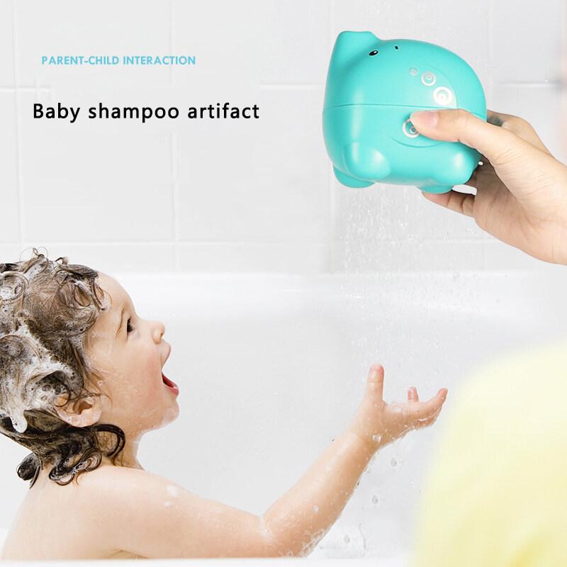 Baby bath auxiliary water drop toy splash bath toy   baby elephant bath toy