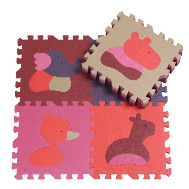 EVA puzzle mat animal alphabet jigsaw foam floor mat