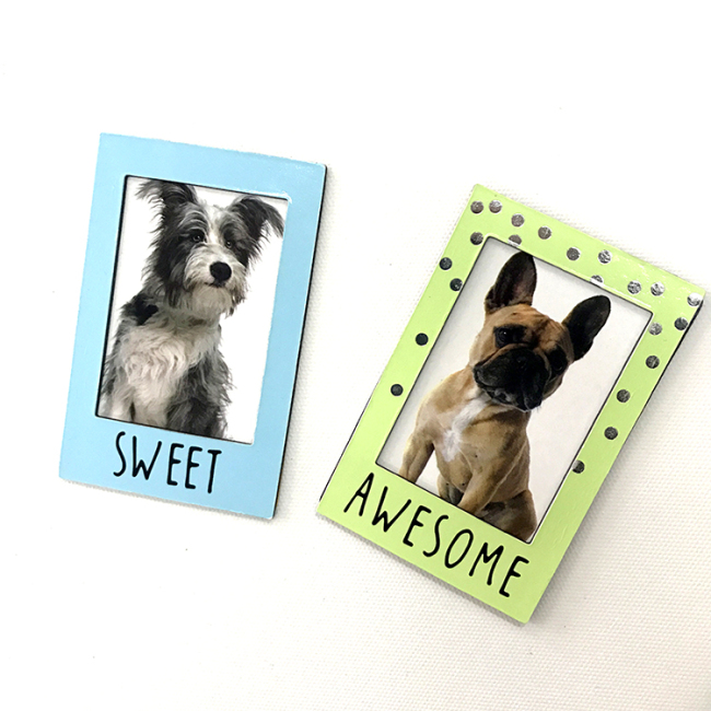 Customized Decorative Magnetic Photo Frames